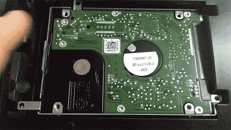 Как поменять жесткий диск на ноутбуке на примере ASUS x75v