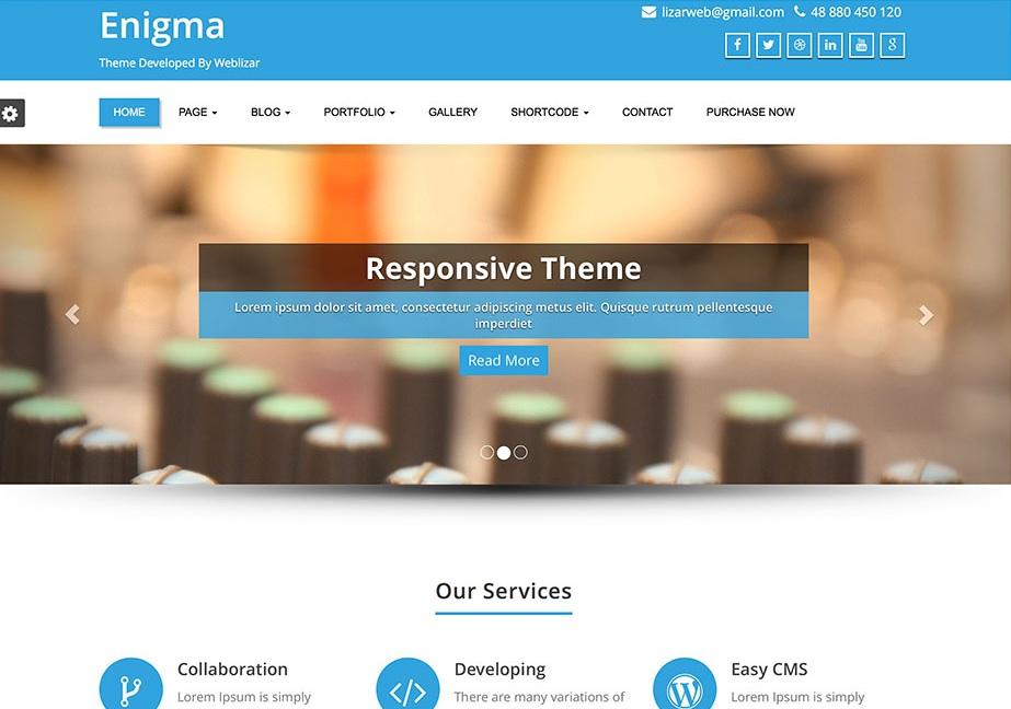 enigma-flat-wordpress-business-theme