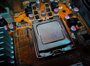 После очистки процессора