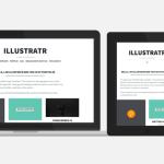 Супер минималистическая тема для WordPress