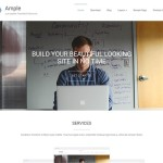 Ample — красивый шаблон для студий
