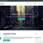 Ascent — бизнес шаблон на html5 и css3