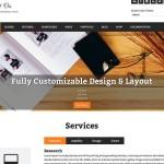 FlatOn — шаблон с плоским дизайном для студий