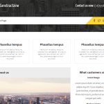 Constructzine Lite — шаблон для корпоративных веб сайтов