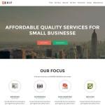 Zerif Lite — чистая и современная тема для веб студий