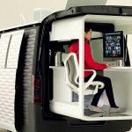Не просто удалённо, но и мобильно: Caravan NV350 Office Pod